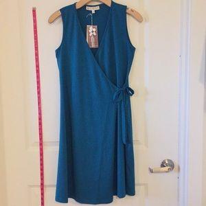 Ladies Classic Wrap Dress XS